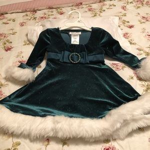 T2 Bonnie Jean Christmas dress